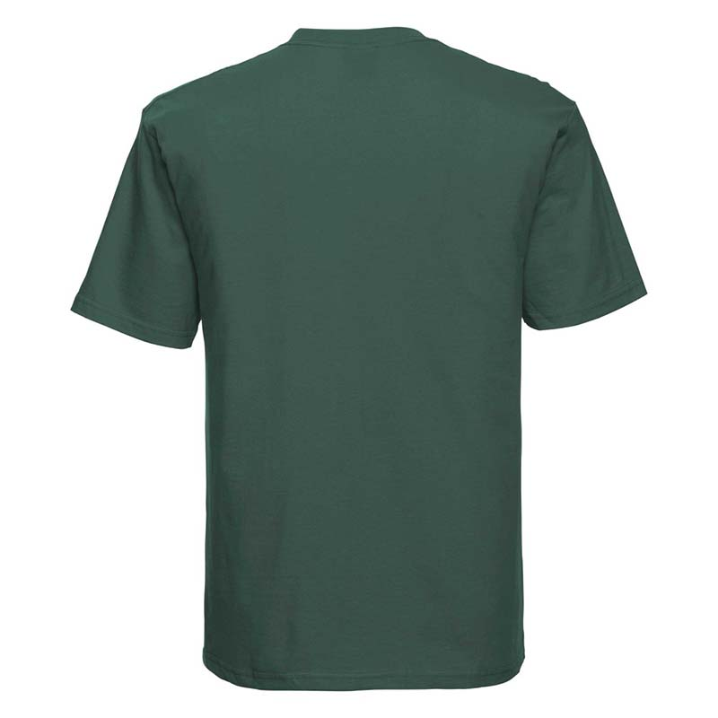 180gsm 100% Ringspun Cotton Classic T-Shirt Short Sleeve - JTA180-bottle-green-back