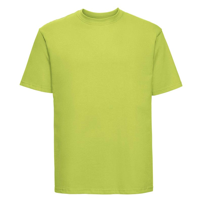 180gsm 100% Ringspun Cotton Classic T-Shirt Short Sleeve - JTA180-lime