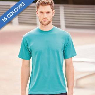 180gsm 100% Ringspun Cotton Classic T-Shirt Short Sleeve - JTA180