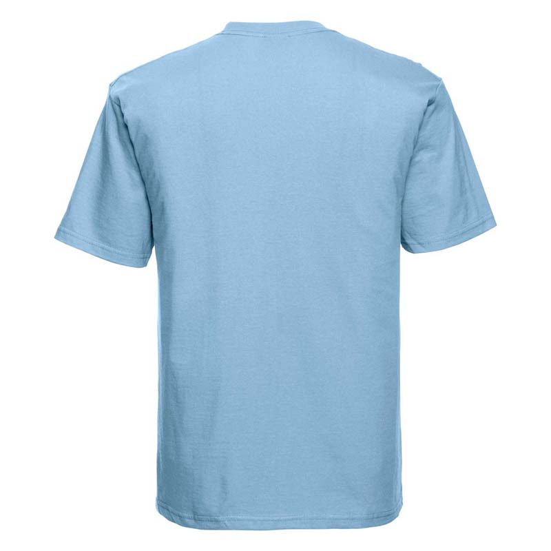 180gsm 100% Ringspun Cotton Classic T-Shirt Short Sleeve - JTA180-sky-back