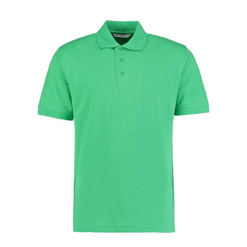 185gsm 65/35PC Mens Regular Klassic Polo - KK403-apple-green