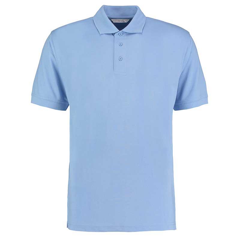 185gsm 65/35PC Mens Regular Klassic Polo - KK403-light-blue