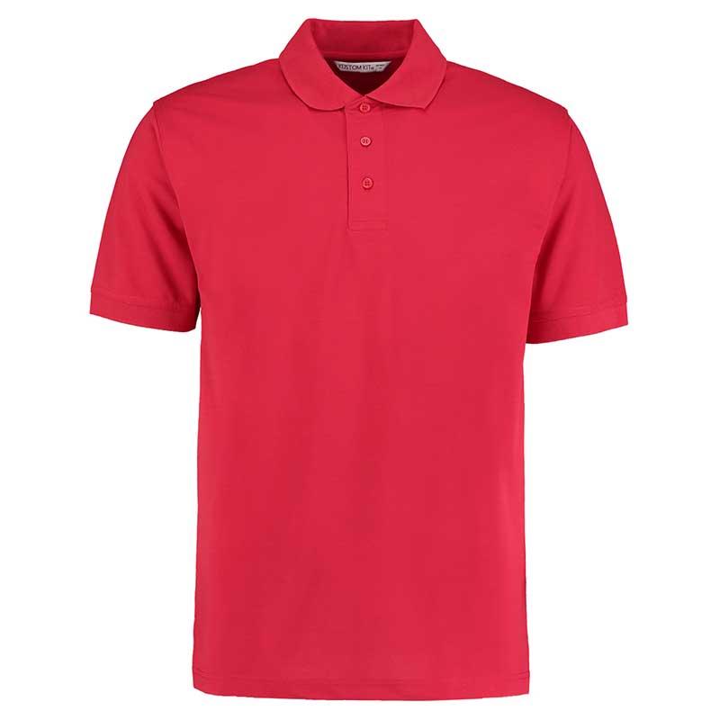 185gsm 65/35PC Mens Regular Klassic Polo - KK403-red35PC Mens Regular Classic Polo - KK403-red
