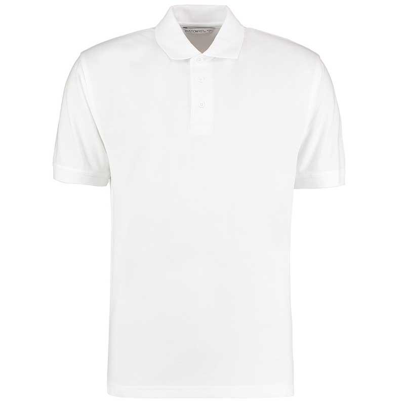 185gsm 65/35PC Mens Regular Klassic Polo - KK403-white