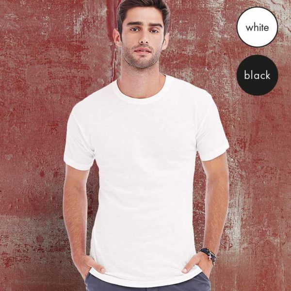 135gsm 100% Ring-Spun Cotton, Single Jersey NANO T-Shirt - N1000