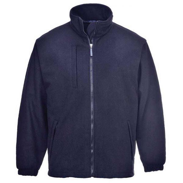 330gsm 100% Polyester Buildtex Laminated Fleece - OJAA330-navy