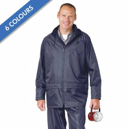 210g 100% Polyester Classic Rain Jacket - OJAA440