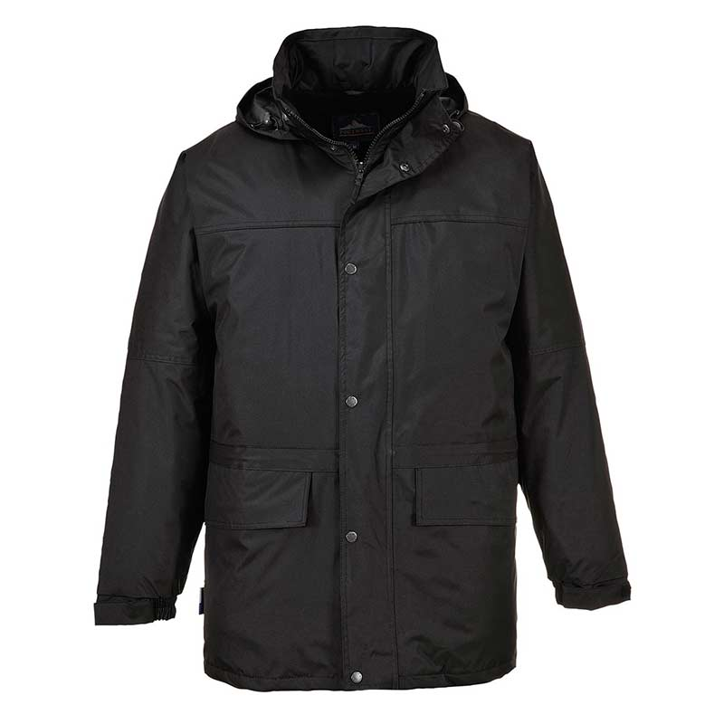 230g 100% Polyester Fleece Lined Oban Jacket - OJAA523-black
