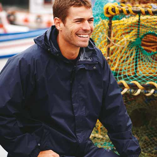 100% Polyester Waterproof Breathable Pro Packaway Jacket - RJAA248