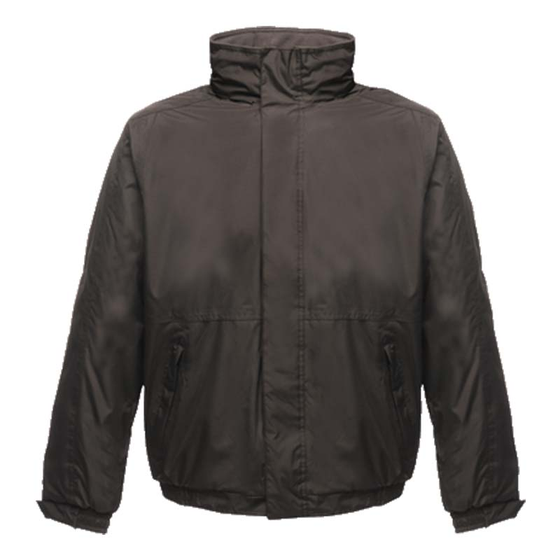 'Dover' Fleece-Lined Waterproof Jacket - RJAA297-black-ash