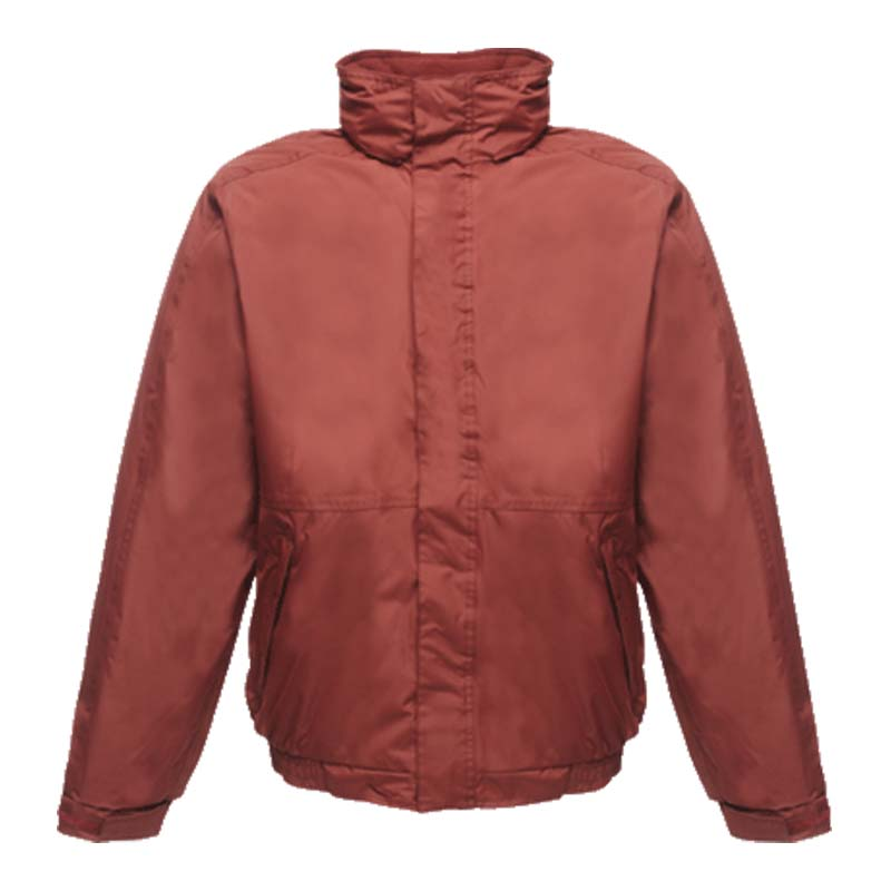 'Dover' Fleece-Lined Waterproof Jacket - RJAA297-burgundy
