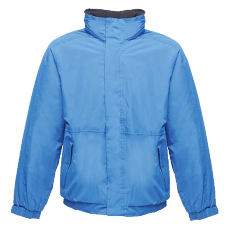 'Dover' Fleece-Lined Waterproof Jacket - RJAA297-oxford-blue