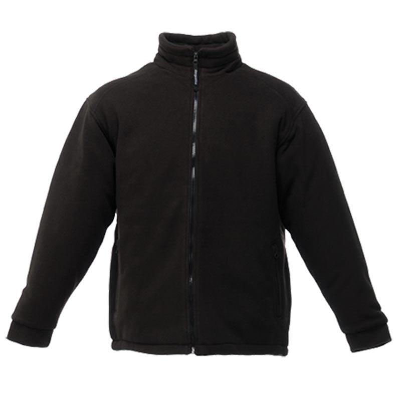 250gsm 100% Polyester Asgard II Quilted Fleece - RJAA530-black