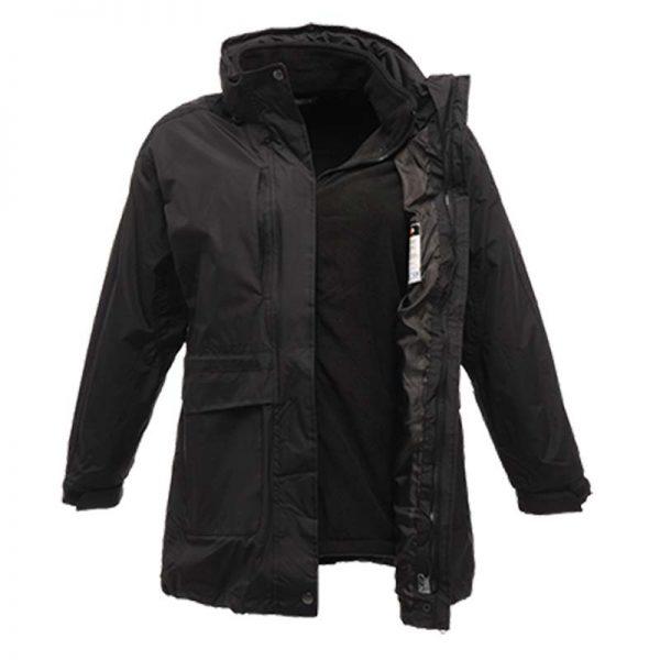 120gsm Ladies Benson II Breathable 3-in-1 Jacket - RJAL123-black