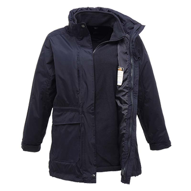 120gsm Ladies Benson II Breathable 3-in-1 Jacket - RJAL123-navy