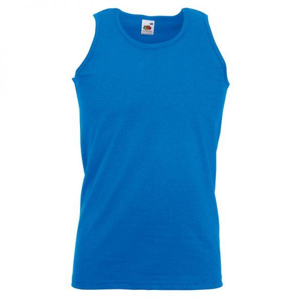 165gsm 100% Cotton, Belcoro® Yarn Athletic Vests - SAVA-royal
