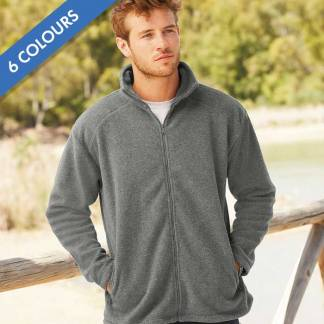 300g 100% Polyester Full Zip Fleece - SFFZA