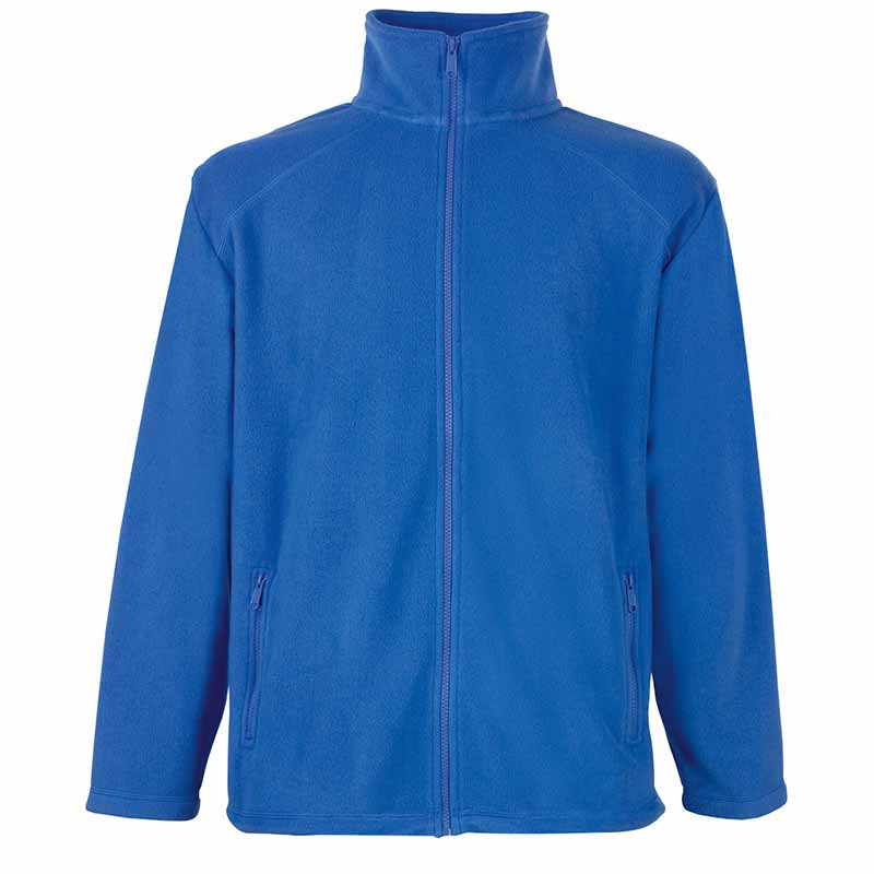 300g 100% Polyester Full Zip Fleece - SFFZA-royal