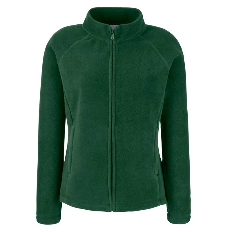 300g 100% Polyester Lady-Fit Outdoor Fleece - SFL-bottle-green