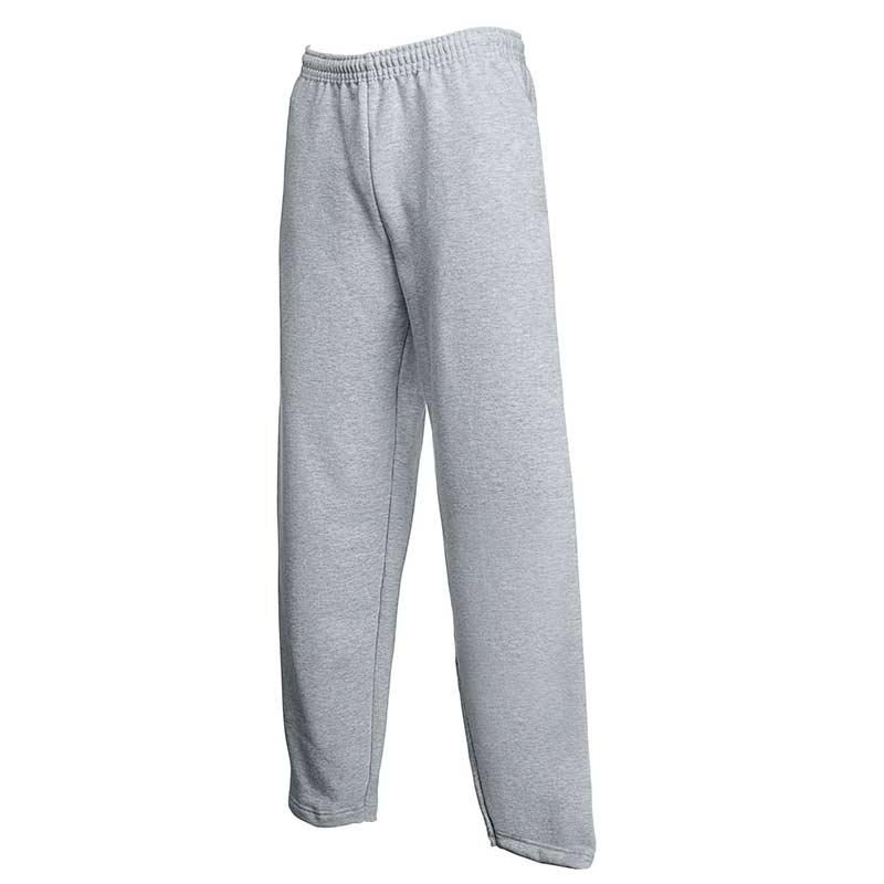 280gsm 80/20 CP Adults Open Hem Jog Pants - SJOA-grey