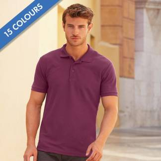 180gsm 65/35 PC Basic Polo - SPA
