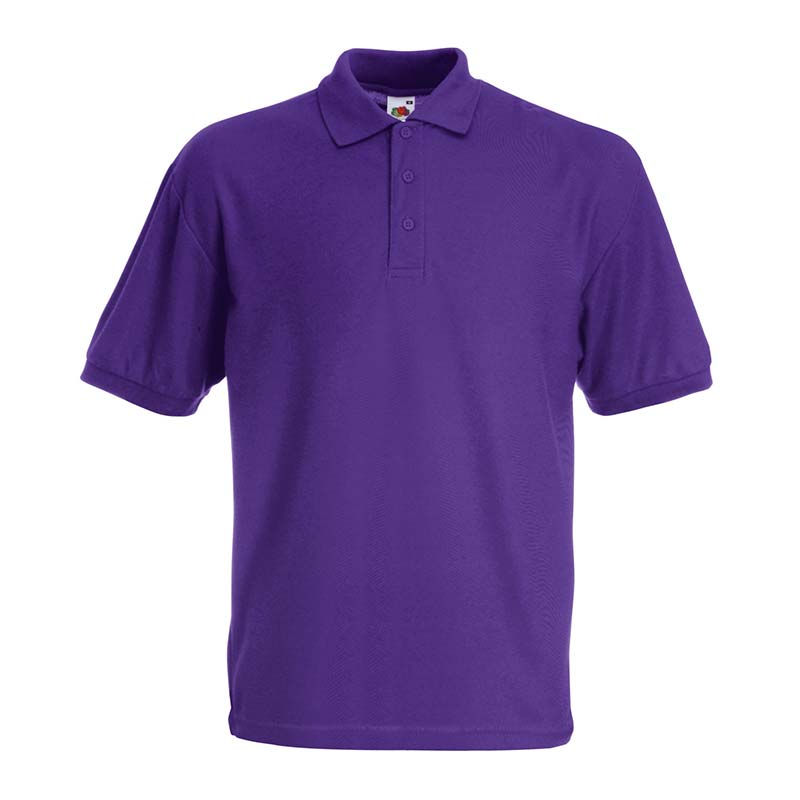 180gsm 65/35 PC Basic Polo - SPA-purple