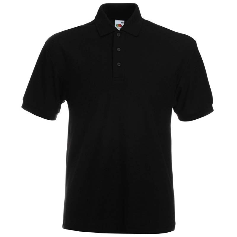 230gsm 65/35 PC Heavy Polo - SPHA-black