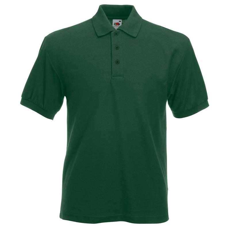 230gsm 65/35 PC Heavy Polo - SPHA-bottle-green