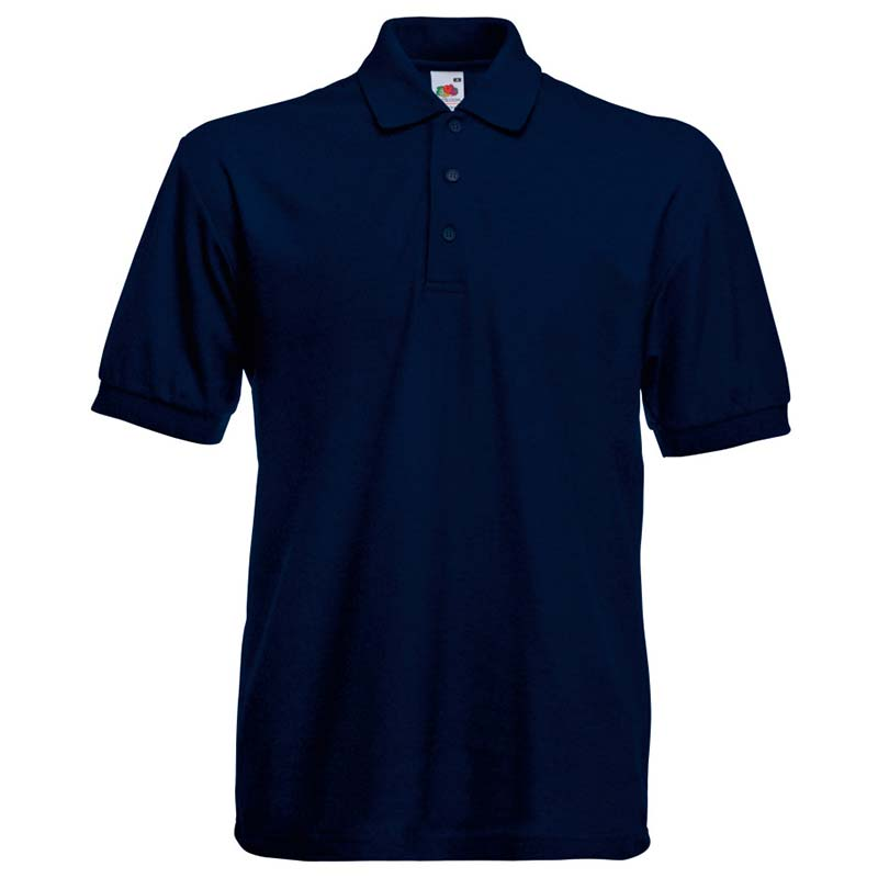 230gsm 65/35 PC Heavy Polo - SPHA-deep-navy