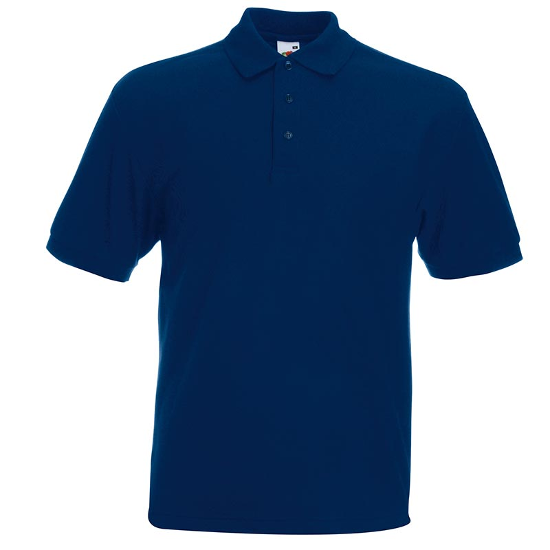 230gsm 65/35 PC Heavy Polo - SPHA-navy
