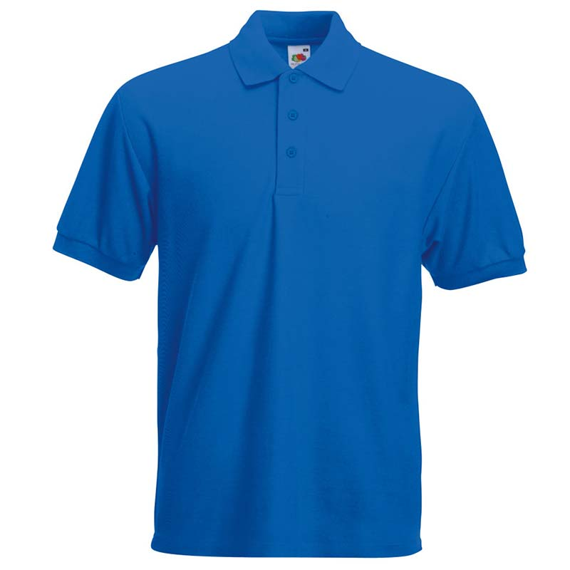 230gsm 65/35 PC Heavy Polo - SPHA-royal
