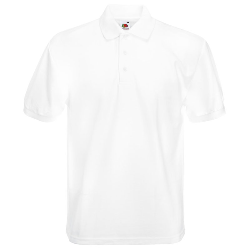230gsm 65/35 PC Heavy Polo - SPHA-white