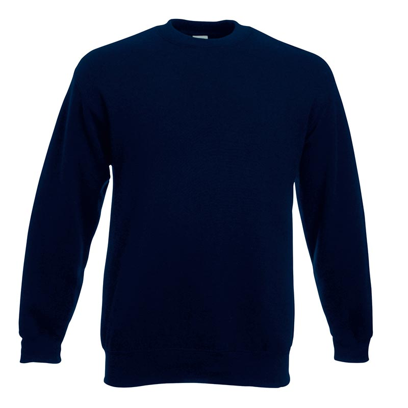 280gsm 80/20 CP Set-In Classic Crew Sweat Long Sleeve - SSDA-deep-navy