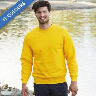 280gsm 80/20 CP Set-In Classic Crew Sweat Long Sleeve - SSDA