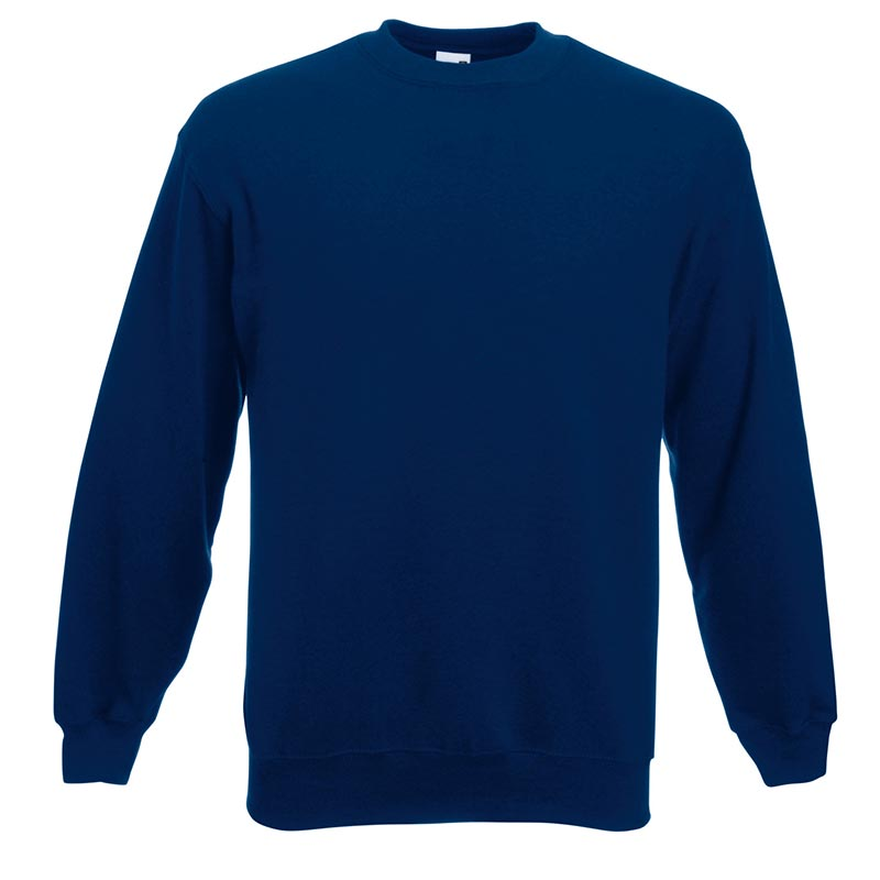 280gsm 80/20 CP Set-In Classic Crew Sweat Long Sleeve - SSDA-navy