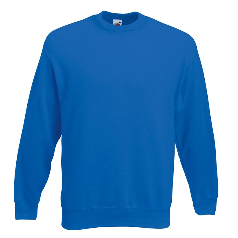 280gsm 80/20 CP Set-In Classic Crew Sweat Long Sleeve - SSDA-royal