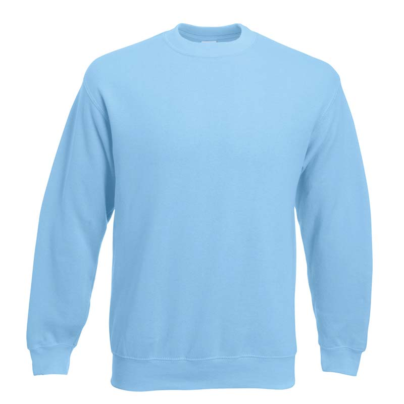 280gsm 80/20 CP Set-In Classic Crew Sweat Long Sleeve - SSDA-sky
