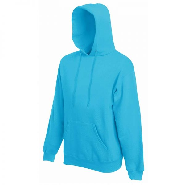 280g 80/20 CP Mens Classic Hooded Set-in Sweat - SSHA-azure
