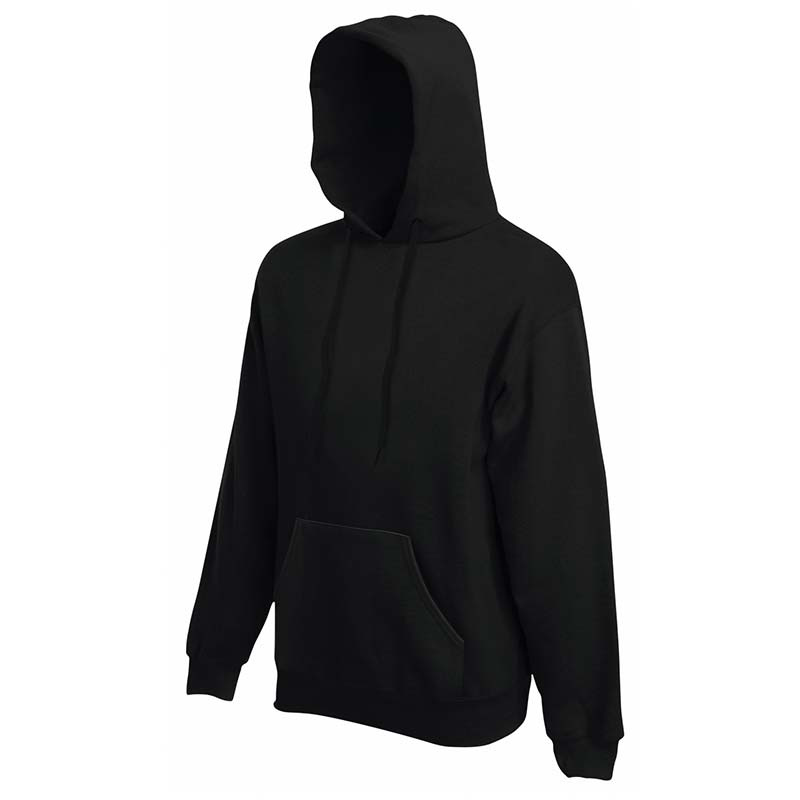 280g 80/20 CP Mens Classic Hooded Set-in Sweat - SSHA-black