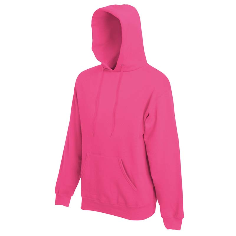 280g 80/20 CP Mens Classic Hooded Set-in Sweat - SSHA-fuchsia