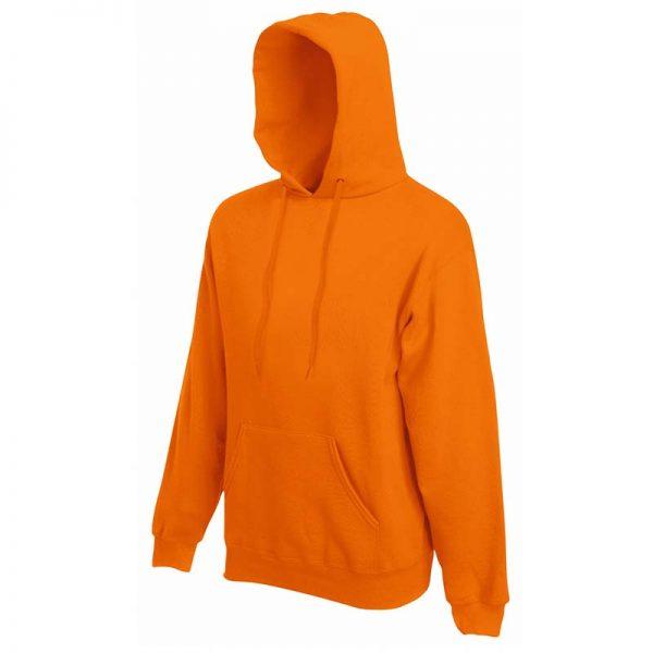280g 80/20 CP Mens Classic Hooded Set-in Sweat - SSHA-orange