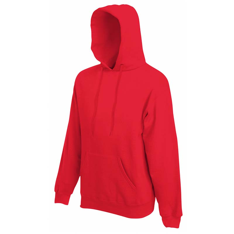 280g 80/20 CP Mens Classic Hooded Set-in Sweat - SSHA-red