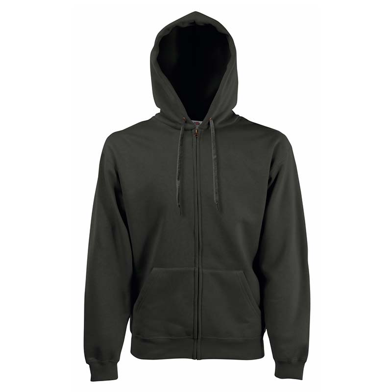 280g 70/30 CP Hooded Sweat Premium Jacket - SSHZA-charcoal