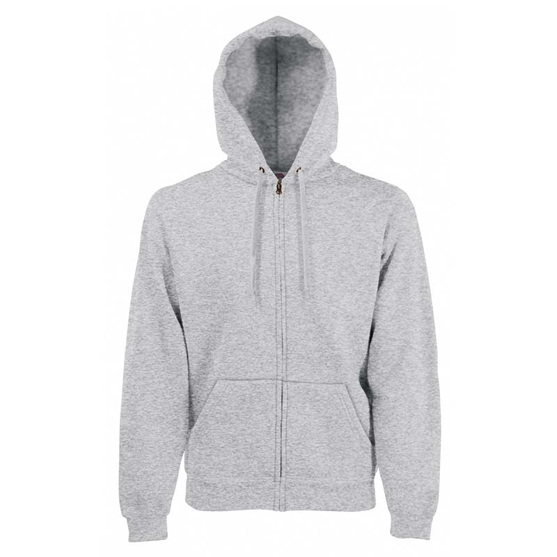 280g 70/30 CP Hooded Sweat Premium Jacket - SSHZA-heather