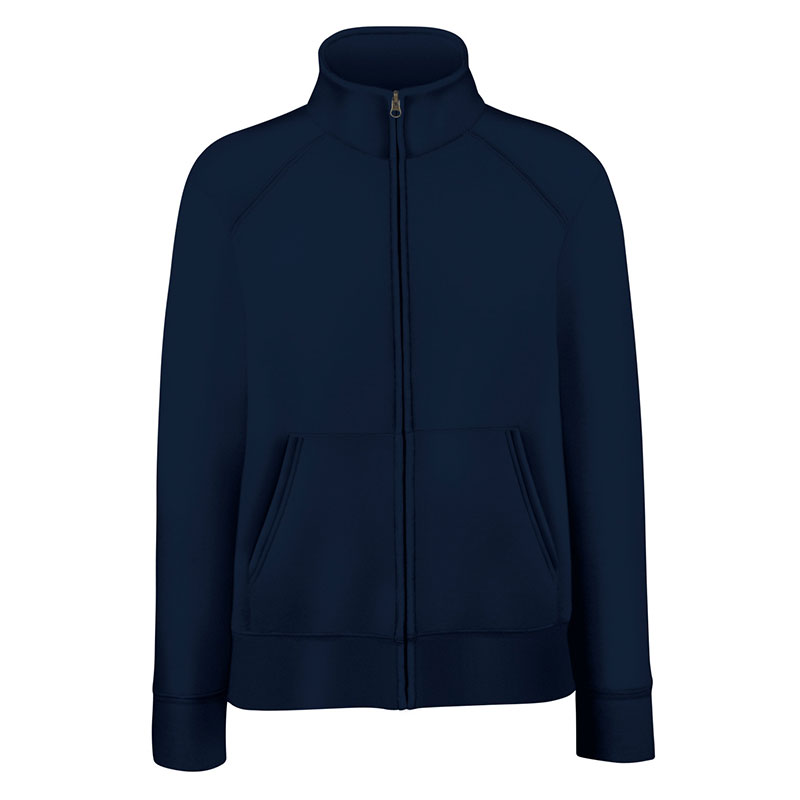 280g 70/30 CP Lady-Fit Premium Sweat Jacket - SSZL-deep-navy