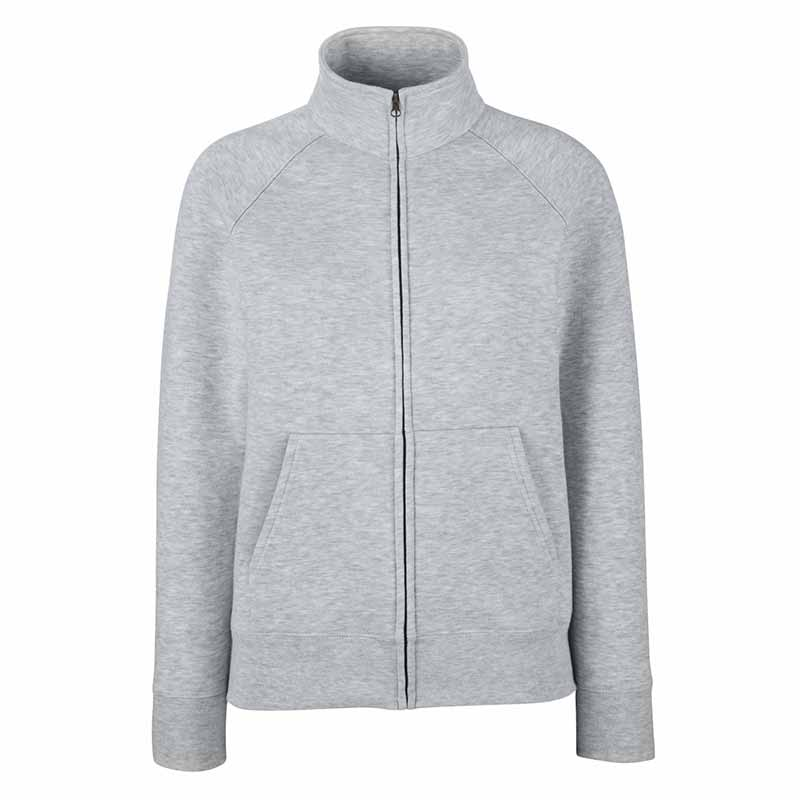 280g 70/30 CP Lady-Fit Premium Sweat Jacket - SSZL-heather
