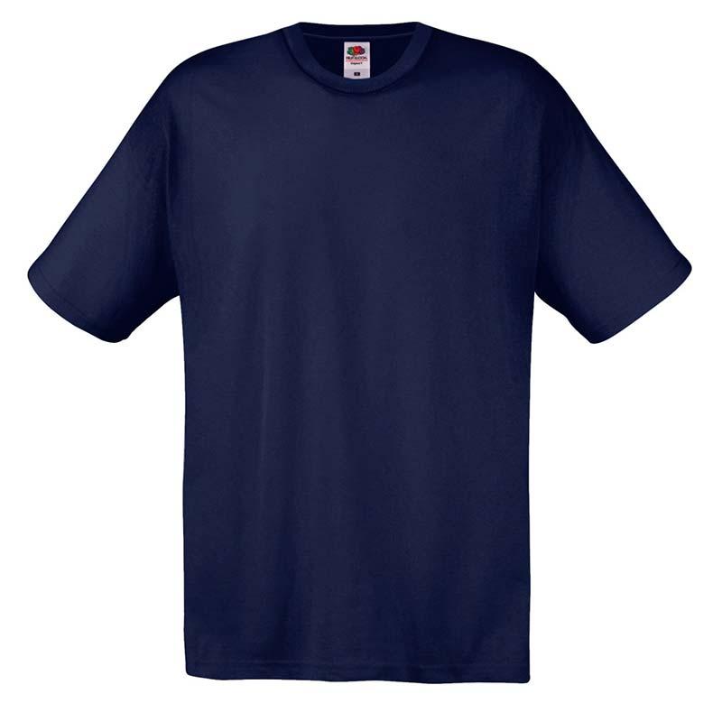 145gsm 100% Cotton Full Cut Original T Shirt Short Sleeve - STFA-deep-navy