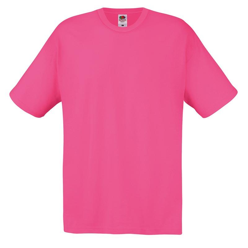145gsm 100% Cotton Full Cut Original T Shirt Short Sleeve - STFA-fuchsia