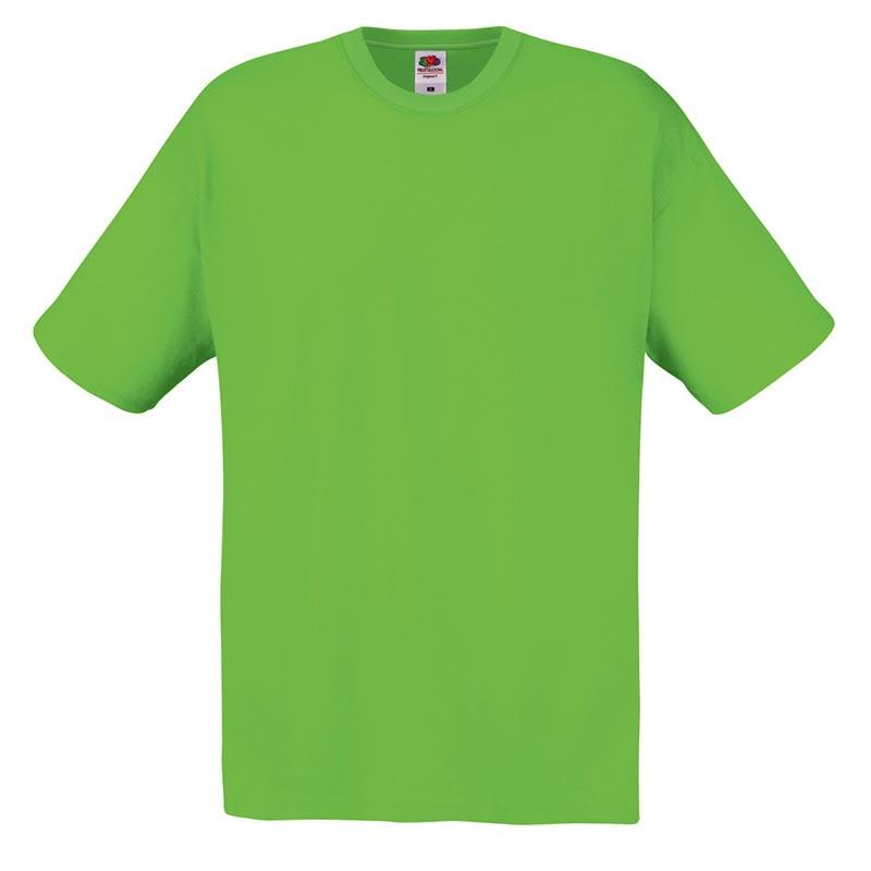 145gsm 100% Cotton Full Cut Original T Shirt Short Sleeve - STFA-lime