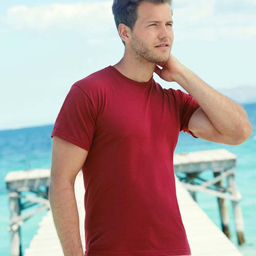 145gsm 100% Cotton Full Cut Original T Shirt Short Sleeve - STFA